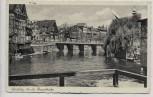 AK Lüneburg An der Brausebrücke Feldpost 1940