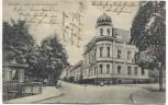 AK Apolda Herressener Promenade mit Eckhaus 1910