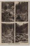 AK Mehrbild Gruß aus dem Waldnaabtal Gletschermühl Butterfaß ... b. Windischeschenbach Falkenberg 1910