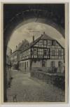 AK Alzey Schloß-Gasse 1920