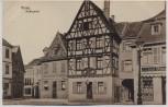 AK Alzey Roßmarkt mit Brauerei 1920