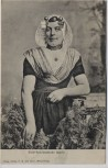 AK Zuid-Bevelandsche boerin Frau in Tracht Niederlande Holland 1908
