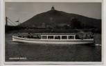AK Foto Motorschiff Roland mit Porta Westfalica b. Minden 1935 RAR