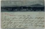 Mondschein AK Gruss aus Rabenden Ortsansicht b. Altenmarkt an der Alz 1898 RAR