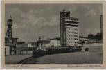AK Düsseldorf Gesolei Feuerwehrturm mit Liliputbahn 1926