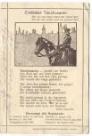AK Feldpost Crefelder Tanzhusaren Krefeld Husaren Gedicht 1914 RAR