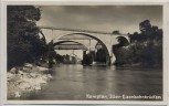AK Foto Kempten Iller-Eisenbahnbrücken 1930