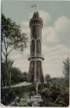 AK Ebingen Aussichtsturm mit Fahne 1909