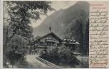 AK Kaprun Kaprunertal mit Hotel Kesselfall Salzburg Österreich Inflation 1923