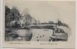 AK Gruss aus Lenzen an der Elbe Partie am Rudower See Karpfenteich 1900