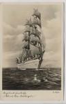 AK Segelschulschiff Albert Leo Schlageter Marine 1938