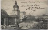 AK Darmstadt Museum und Theater 1906