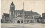 AK Giessen Gießen Bahnhof Hessen 1906