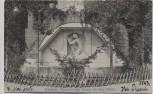 AK Darmstadt Künstlerkolonie Brunnen am Haus Olbrich 1907