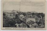 AK Darmstadt Kath. Kirche und Großh. Palais Blick von der Ludwigssäule in die Wilhelminenstraße 1910