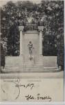 AK Darmstadt Goethedenkmal im Herrngarten 1907