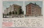 VERKAUFT !!!   AK Leipzig Lindenau 23. Bezirksschule Uhlandstrasse Kathol. Schule Friedrich August Strasse 1902 RAR