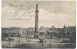 AK Darmstadt Louisenplatz und Ludwigsäule 1904