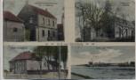 AK Mehrbild Gruß aus Stürzelberg Schule Kirche Kolonialwarenhandlung b. Zons Dormagen 1919 RAR