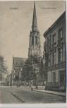 AK Krefeld Friedenskirche 1907 RAR