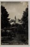VERKAUFT !!!   AK Foto Braunau in Böhmen Broumov Dekanalkirche Knabenschule Tschechien 1930 RAR