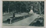AK Franzensbad Františkovy Lázně Kriegerdenkmal im Rosengarten Böhmen Mähren Tschechien 1935 RAR