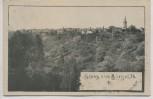 AK Gruss aus Bürgel in Thüringen Ortsansicht 1907