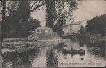 AK Radium-Solbad Kreuznach Partie am Kurpark 1918