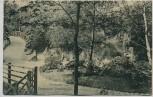 AK Dortmund Kronenburg Gartenanlagen mit Holzbrücke 1907