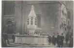 AK Bremen Der neue Brunnen vor der Liebfrauenkirche viele Menschen 1910