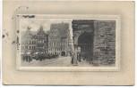 AK Prägekarte Bremen Marktplatz Das neue Rats-Cafe 1910