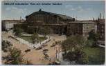 AK Berlin Kreuzberg Askanischer Platz mit Anhalter Bahnhof 1928