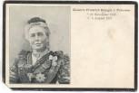 AK Sterbekarte Kaiserin Friedrich Königin v. Preussen Adel 1901