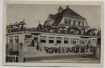 AK Foto Grünwald im Isartal Fischer's Conditorei-Cafe Restaurant 1930