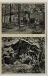 AK Waldwirtschaft und Ausflugsort Thieder-Lindenberg Garten Zwergenhöhle b. Thiede Salzgitter 1936 RAR