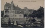 AK Lahr im Breisgau Friedrichsschule mit Pfarrhaus Schwarzwald 1910