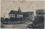 AK Gruß aus Vussem Kapelle mit Menschen b. Mechernich Feldpost 1915 RAR