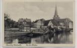 AK Otterndorf Niederelbe An der Medem 1937