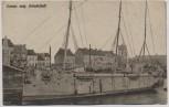 AK Erbeutetes belgisches Schulschiff 1. WK 1917