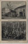 AK Westlicher Kriegsschauplatz 1. WK Pionierquartier Unterstand Soldaten Feldpost 1916