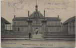 AK Neuflize (Ardennes) Mairie et Ecoles bei Rethel Frankreich 1.WK Feldpost 1914