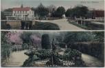 AK Gruss aus Steinau (Niedersachsen) Partie aus Strunk's Sommergarten 1910 RAR