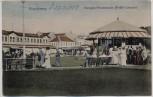 AK Norderney Morgen-Promenade Früh-Konzert viele Menschen 1909
