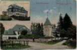 AK Rodt Müllenbach Evgl. Kirche u. Pastorat Schule b. Marienheide 1930 RAR