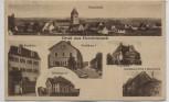 AK Gruß aus Heroldsbach Forsthaus Schulhaus Gasthaus 1928 RAR
