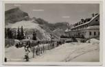 AK Foto Kreuzeckhaus im Winter bei Garmisch-Partenkirchen 1940