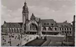 AK Foto Krefeld Hauptbahnhof 1958