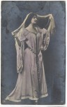 AK Foto schöne Frau im orientalischen Kleid 1909