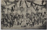 AK Heidelberg Corps-Mensur in der Hirschgasse 1910