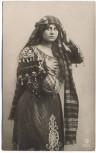 AK Foto Frau in arabischer Tracht 1910